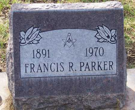PARKER, FRANCIS R. - Santa Cruz County, Arizona | FRANCIS R. PARKER - Arizona Gravestone Photos