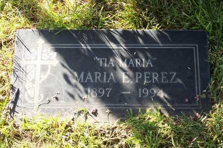 PEREZ, MARIA E. - Santa Cruz County, Arizona   MARIA E. PEREZ - Arizona Gravestone Photos
