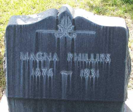 PHILLIPS, MAGNA - Santa Cruz County, Arizona   MAGNA PHILLIPS - Arizona Gravestone Photos