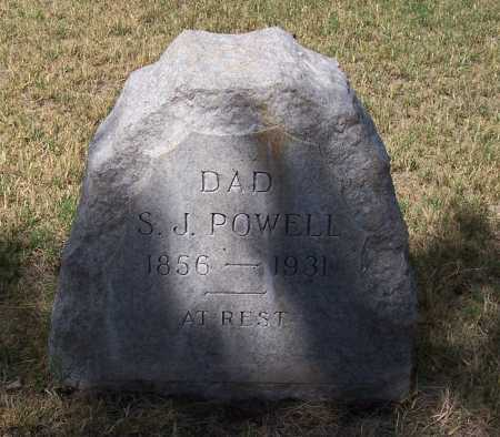 POWELL, S. J. - Santa Cruz County, Arizona | S. J. POWELL - Arizona Gravestone Photos