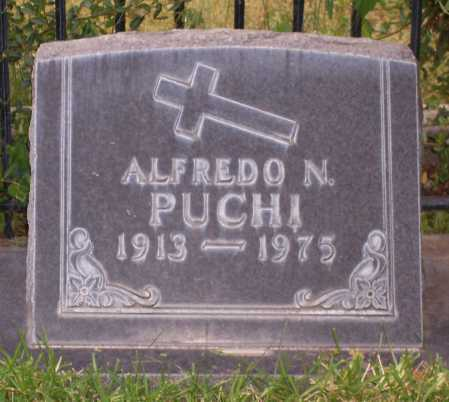 PUCHI, ALFREDO N. - Santa Cruz County, Arizona | ALFREDO N. PUCHI - Arizona Gravestone Photos