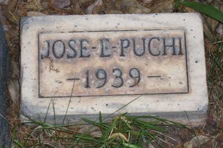 PUCHI, JOSE E. - Santa Cruz County, Arizona | JOSE E. PUCHI - Arizona Gravestone Photos