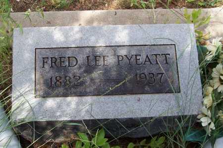 PYEATT, FRED LEE - Santa Cruz County, Arizona | FRED LEE PYEATT - Arizona Gravestone Photos