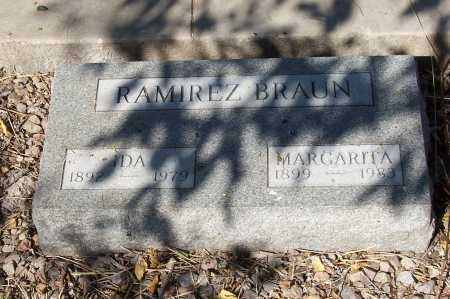 RAMIREZ BRAUN, IDA - Santa Cruz County, Arizona | IDA RAMIREZ BRAUN - Arizona Gravestone Photos