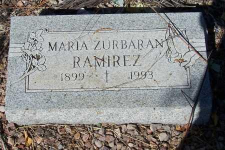 ZURBARAN RAMIREZ, MARIA - Santa Cruz County, Arizona | MARIA ZURBARAN RAMIREZ - Arizona Gravestone Photos