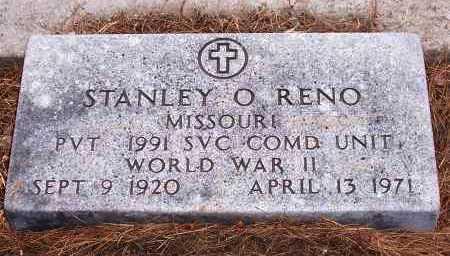 RENO, STANLEY O. - Santa Cruz County, Arizona | STANLEY O. RENO - Arizona Gravestone Photos