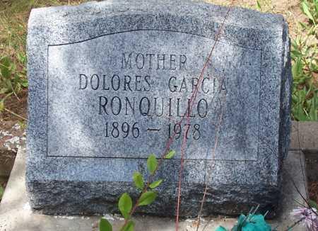 GARCIA RONQUILLO, DOLORES - Santa Cruz County, Arizona | DOLORES GARCIA RONQUILLO - Arizona Gravestone Photos