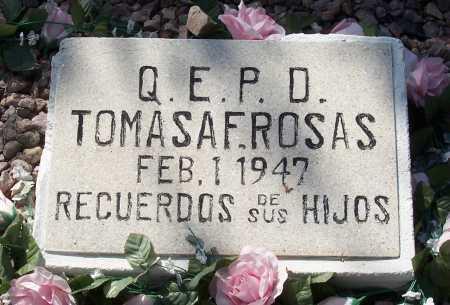 ROSAS, TOMASA F. - Santa Cruz County, Arizona   TOMASA F. ROSAS - Arizona Gravestone Photos