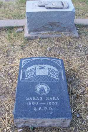 SABA, SABAS - Santa Cruz County, Arizona   SABAS SABA - Arizona Gravestone Photos