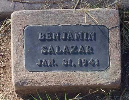 SALAZAR, BENJAMIN - Santa Cruz County, Arizona | BENJAMIN SALAZAR - Arizona Gravestone Photos