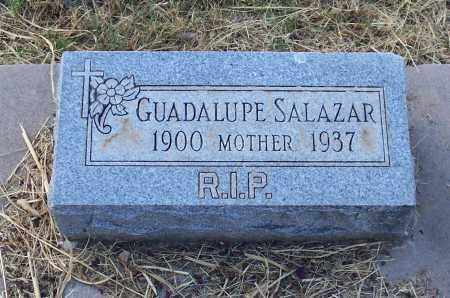 SALAZAR, GUADALUPE - Santa Cruz County, Arizona   GUADALUPE SALAZAR - Arizona Gravestone Photos
