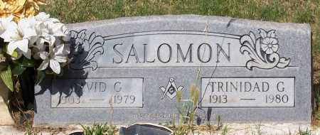 SALOMON, TRINIDAD G. - Santa Cruz County, Arizona | TRINIDAD G. SALOMON - Arizona Gravestone Photos
