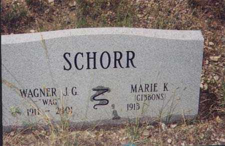 "SCHORR, WAGNER  ""WAG"" - Santa Cruz County, Arizona | WAGNER  ""WAG"" SCHORR - Arizona Gravestone Photos"