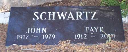 SCHWARTZ, JOHN - Santa Cruz County, Arizona   JOHN SCHWARTZ - Arizona Gravestone Photos