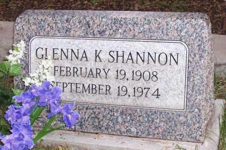 SHANNON, GLENNA K. - Santa Cruz County, Arizona | GLENNA K. SHANNON - Arizona Gravestone Photos