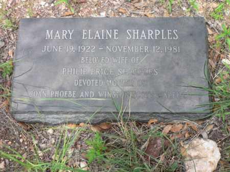 SHARPLES, MARY ELAINE - Santa Cruz County, Arizona   MARY ELAINE SHARPLES - Arizona Gravestone Photos
