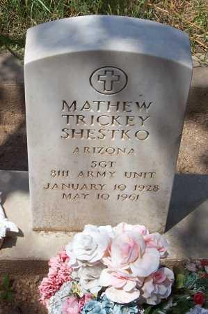 SHESTKO, MATHEW TRICKEY - Santa Cruz County, Arizona | MATHEW TRICKEY SHESTKO - Arizona Gravestone Photos