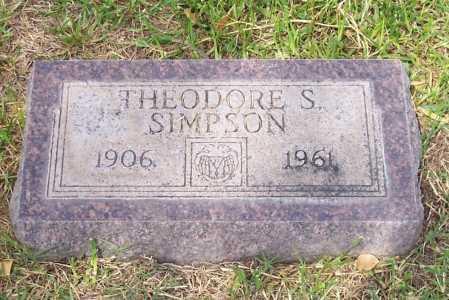 SIMPSON, THEODORE S. - Santa Cruz County, Arizona | THEODORE S. SIMPSON - Arizona Gravestone Photos