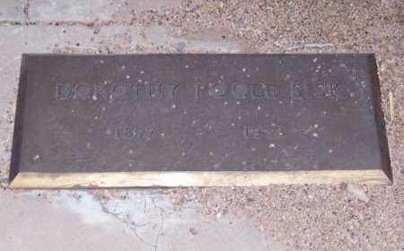 POOLE SISK, DOROTHY - Santa Cruz County, Arizona | DOROTHY POOLE SISK - Arizona Gravestone Photos