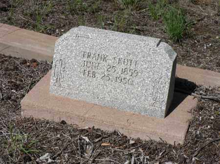SKUTT, FRANK - Santa Cruz County, Arizona | FRANK SKUTT - Arizona Gravestone Photos