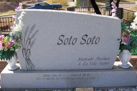 SOTO, ALFONSO - Santa Cruz County, Arizona | ALFONSO SOTO - Arizona Gravestone Photos