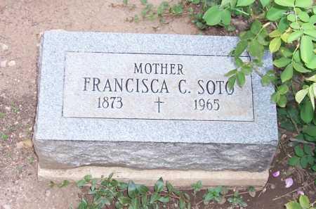 SOTO, FRANCISCA C. - Santa Cruz County, Arizona | FRANCISCA C. SOTO - Arizona Gravestone Photos