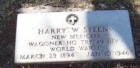 STEEN, HARRY W. - Santa Cruz County, Arizona | HARRY W. STEEN - Arizona Gravestone Photos