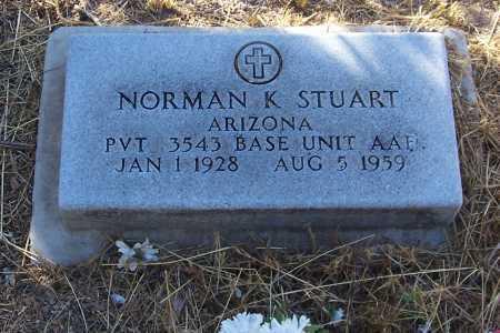 STUART, NORMAN K. - Santa Cruz County, Arizona | NORMAN K. STUART - Arizona Gravestone Photos