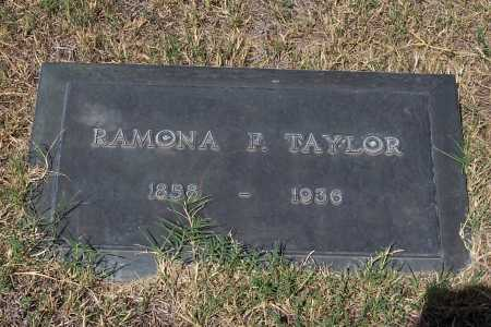 TAYLOR, RAMONA F. - Santa Cruz County, Arizona   RAMONA F. TAYLOR - Arizona Gravestone Photos