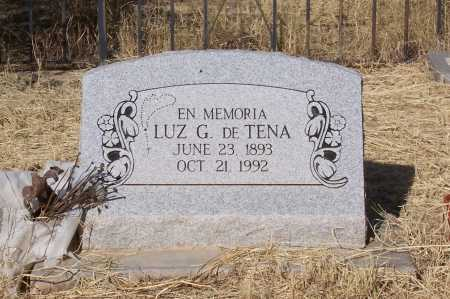 TENA, DE, LUZ G. - Santa Cruz County, Arizona | LUZ G. TENA, DE - Arizona Gravestone Photos