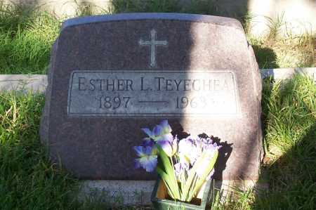 TEYECHEA, ESTHER L. - Santa Cruz County, Arizona | ESTHER L. TEYECHEA - Arizona Gravestone Photos