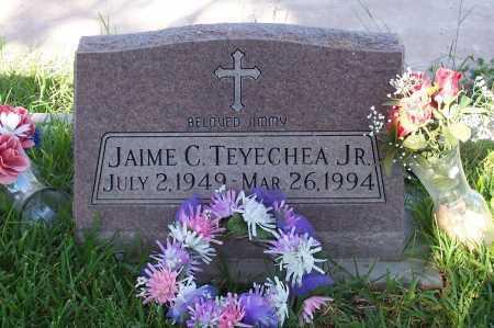 TEYECHEA, JAIME C. JR. - Santa Cruz County, Arizona | JAIME C. JR. TEYECHEA - Arizona Gravestone Photos
