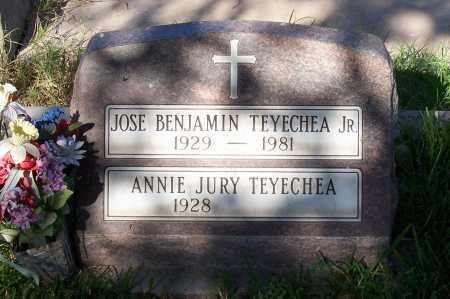 JURY TEYECHEA, ANNIE - Santa Cruz County, Arizona | ANNIE JURY TEYECHEA - Arizona Gravestone Photos