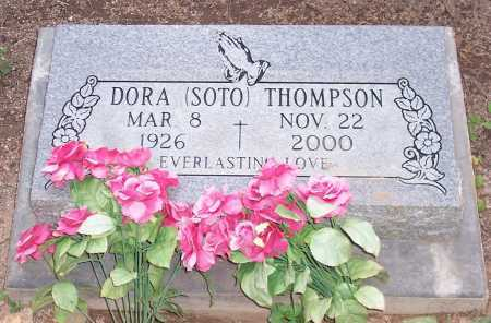 THOMPSON, DORA - Santa Cruz County, Arizona   DORA THOMPSON - Arizona Gravestone Photos