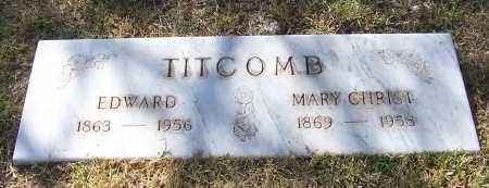 TITCOMB, MARY - Santa Cruz County, Arizona | MARY TITCOMB - Arizona Gravestone Photos