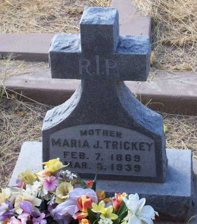 TRICKEY, MARIA J. - Santa Cruz County, Arizona | MARIA J. TRICKEY - Arizona Gravestone Photos