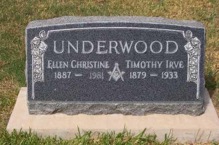 UNDERWOOD, ELLEN CHRISTINE - Santa Cruz County, Arizona | ELLEN CHRISTINE UNDERWOOD - Arizona Gravestone Photos