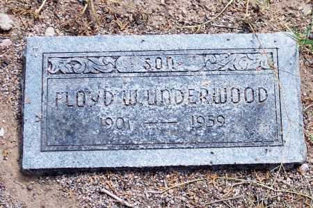 UNDERWOOD, FLOYD W. - Santa Cruz County, Arizona | FLOYD W. UNDERWOOD - Arizona Gravestone Photos