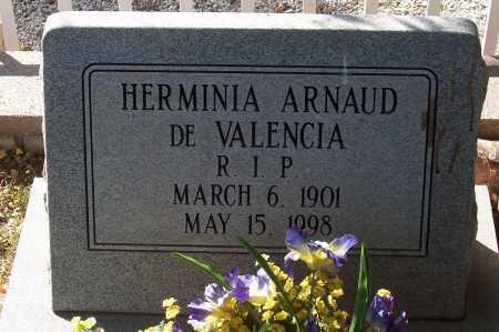 VALENCIA, DE, HERMINIA - Santa Cruz County, Arizona | HERMINIA VALENCIA, DE - Arizona Gravestone Photos