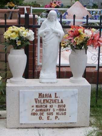 VALENZUELA, MARIA L. - Santa Cruz County, Arizona | MARIA L. VALENZUELA - Arizona Gravestone Photos
