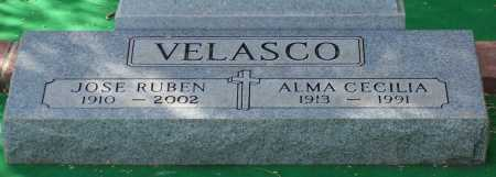 VELASCO, JOSE RUBEN - Santa Cruz County, Arizona | JOSE RUBEN VELASCO - Arizona Gravestone Photos