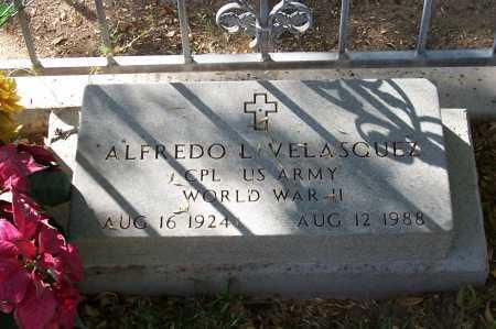 VELASQUEZ, ALFREDO L - Santa Cruz County, Arizona | ALFREDO L VELASQUEZ - Arizona Gravestone Photos