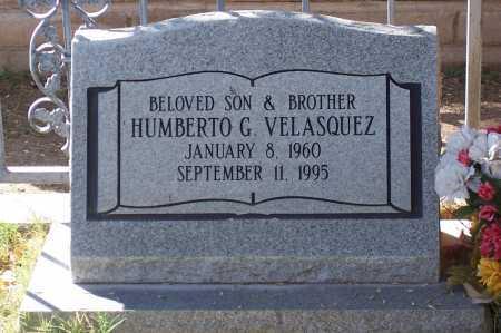 VELASQUEZ, HUMBERTO G. - Santa Cruz County, Arizona | HUMBERTO G. VELASQUEZ - Arizona Gravestone Photos