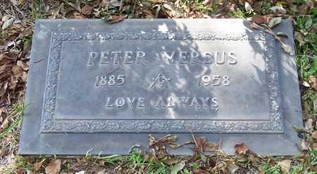 VERSUS, PETER - Santa Cruz County, Arizona | PETER VERSUS - Arizona Gravestone Photos