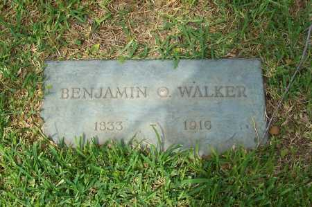 WALKER, BENJAMIN O. - Santa Cruz County, Arizona | BENJAMIN O. WALKER - Arizona Gravestone Photos