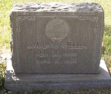 LOVE WHEELER, EVA - Santa Cruz County, Arizona | EVA LOVE WHEELER - Arizona Gravestone Photos