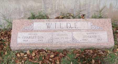 WILDE, EUGENIE S - Santa Cruz County, Arizona | EUGENIE S WILDE - Arizona Gravestone Photos