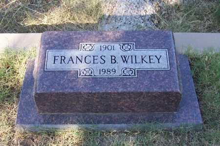 WILKEY, FRANCES B. - Santa Cruz County, Arizona | FRANCES B. WILKEY - Arizona Gravestone Photos