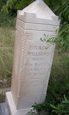 WILLIAMS, BRADY - Santa Cruz County, Arizona | BRADY WILLIAMS - Arizona Gravestone Photos