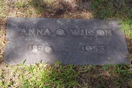 OSPBERG WILSON, ANNA O. - Santa Cruz County, Arizona | ANNA O. OSPBERG WILSON - Arizona Gravestone Photos